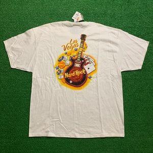 Vintage Hard Rock Cafe Las Vegas Guitar Tee Shirt